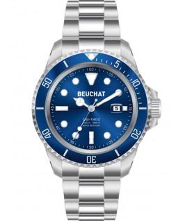 Montre Beuchat GB1950 44mm Cadran Bleu BEU1950-6