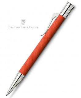 Stylo Bille Graf von Faber Castell Guilloché Orange 145216