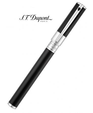 Stylo Roller St Dupont D-Initial Laque Noire 262200