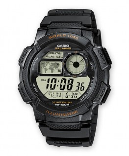 Montre Casio Collection World Time AE-1000W-1AVEF