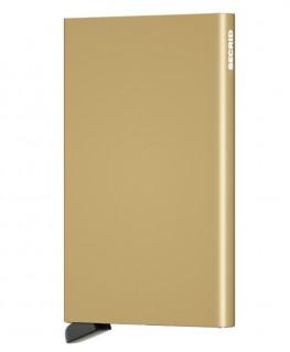 Porte-cartes Secrid Cardprotector Doré C-Gold