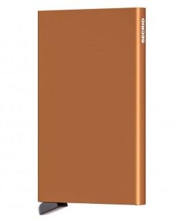 Porte-cartes Secrid Cardprotector Cuivré C-Rust
