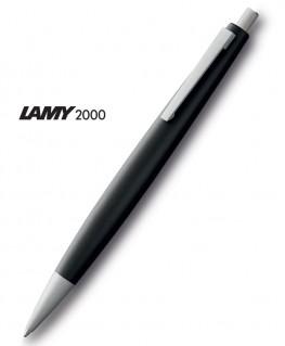 Stylo-Bille-Lamy-2000-Résine-Noire-Mate-Mod.201-Réf_1301483