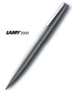 Stylo-Roller-Lamy-2000-Métal-Brossé-Mod.302-Réf.1323964