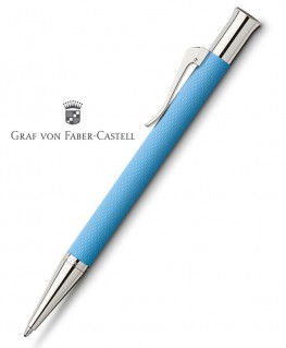 Stylo Bille Graf von Faber Castell Guilloché Bleu Azur 145265