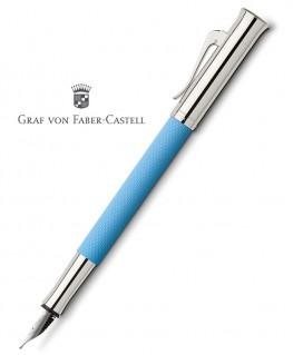 Stylo Plume Graf von Faber Castell Guilloché Bleu Azur 145283