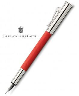 Stylo Plume Graf von Faber Castell Guilloché Rouge Indien 145290