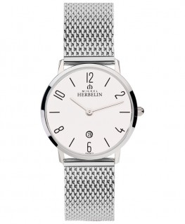 Montre Michel Herbelin City Maille Milanaise 16915/21B
