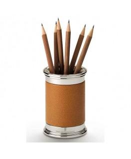 Pot à Crayons Graf von Faber Castell Cuir Cognac