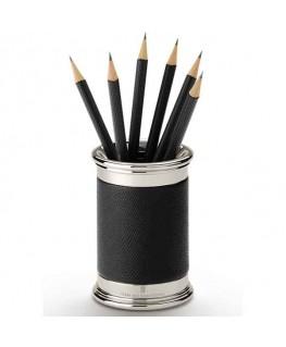 Pot à Crayons Graf von Faber Castell Cuir Noir