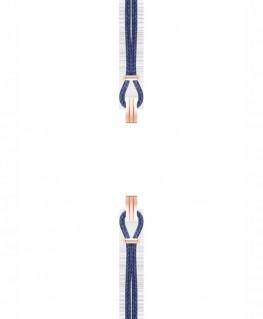 Bracelet de Montre Interchangeable SILA Doré Rose Bleu de Minuit