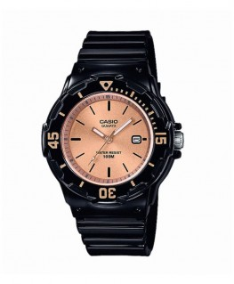 Montre Casio Collection Noir et Doré Rose LRW-200H-9E2VEF