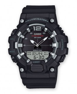 Montre Casio Collection TéléMémo Noir HDC-700-1AVEF