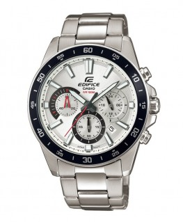Montre Casio Edifice Chrono Fond Blanc EFV-570D-7AVUEF