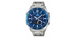 Montre Casio Edifice Acier Fond Bleu EFV-C100D-2AVEF