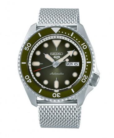 montre-homme-seiko5-automatique-3 aiguilles-ref_SRPD75K1