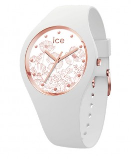 Montre Ice Watch Ice Flower Spring White