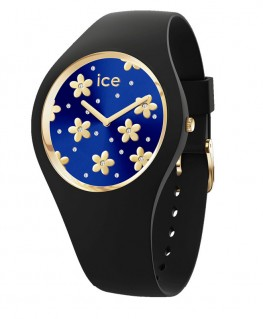Montre Ice Watch Ice Flower Precious Deep Blue