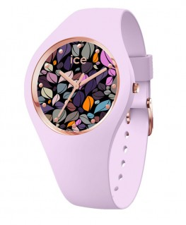 Montre Ice Watch Ice Flower Lilac Petals
