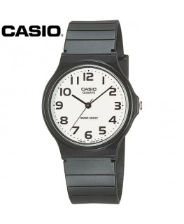 Casio Collection Noire Fond Blanc MQ-24-7B2LEF