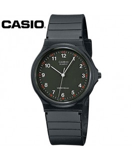 Casio Collection Noire Fond Noir MQ-24-1BLLGF