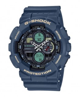 Montre Casio G-Shock Bleu Navy GA-140-2AER