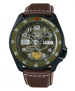 Montre Seiko 5 Sport Automatique Edition Limitée Street Fighter Guile