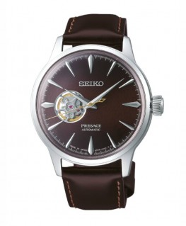 Montre Seiko Presage Cocktail Automatique Coeur Ouvert SSA407J1