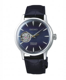Montre Seiko Presage Cocktail Automatique Coeur Ouvert SSA785J1