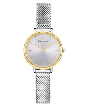 montre-pierre-lannier-nova-cadran-bicolore-bracelet-milanais-acier-ref_014J728