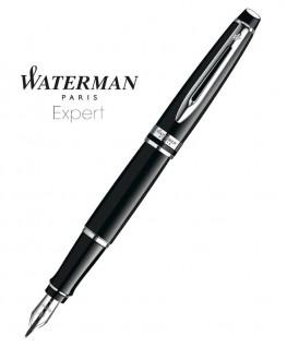 Stylo Plume Waterman Expert Laque Noire CT