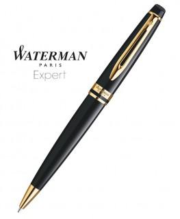 Stylo Bille Waterman Expert Laque Noire GT