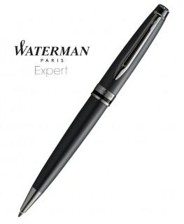 Stylo Bille Waterman Expert Metallic Black RT