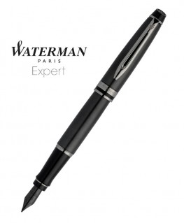 Stylo Plume Waterman Expert Metallic Black RT