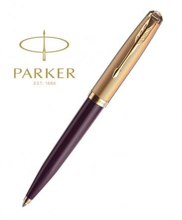 stylo-bille-parker-51-premium-resine-prune-gt-ref_2123518