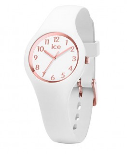 Montre ICE Watch ICE Glam White Rose Gold Numbers XS