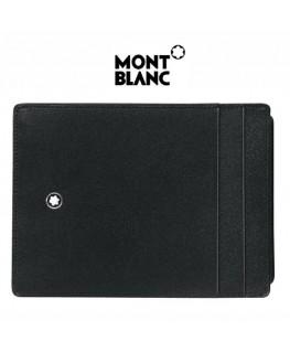 Pochette 4 CC avec Porte Carte d'identité Montblanc Meisterstück