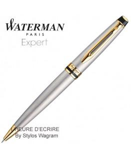 Stylo Waterman Expert Acier GT Bille