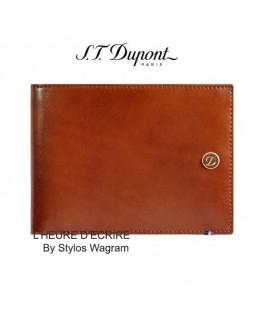 ST Dupont Line D Porte-billets 6CC et Papier Identité