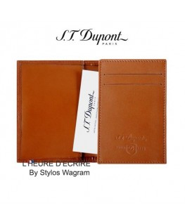 ST Dupont Line D Etui Cartes de Visite Marron