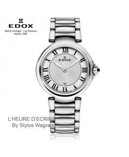 Montre-Femme-Edox-LaPassion-Acier-Quartz-Réf_57002-3M-AR -40%