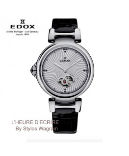 Montre-Femme-Edox-LaPassion-Open-Heart-Automatique-Réf: 85025-3C-AIN