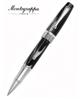 Stylo roller Montegrappa Extra 1930 Black and White ISEXTRCH