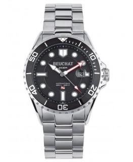 Montre Homme Beuchat Ocea Automatique Cadran Noir BEU0095-1