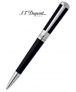 Stylo Bille St Dupont Liberté Laque Noire et Palladium 465674