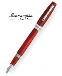 Stylo Plume Montegrappa Félicita Rouge Perlée ISFAR_IR
