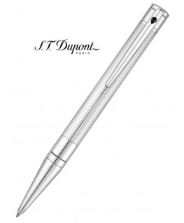 Stylo Bille St Dupont D-Initial Finition Chrome 265201