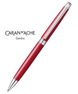 Stylo Bille Caran d'Ache Leman Slim Rouge Ecarlate 4781.770