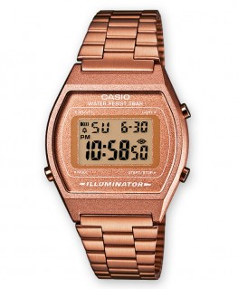Casio Vintage Doré Rose B640WC-5AEF