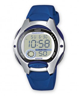 Montre Casio Collection Bleu LW-200-2AVEF